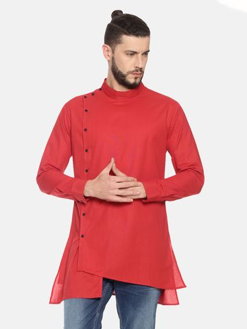 Showoff | SHOWOFF Mens Cotton Casual Solid Kurta