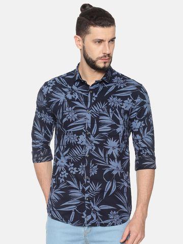 Showoff | SHOWOFF Mens Cotton Casual Printed Shirt