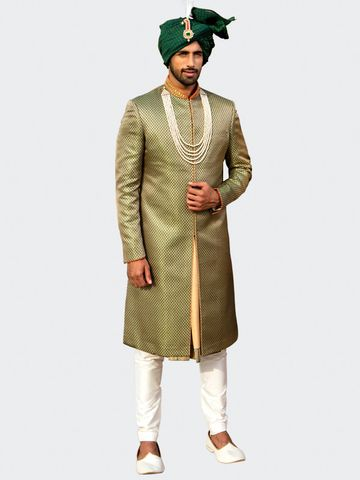 Siddhesh Chauhan | SW1011-GREEN PRINT (AM08)