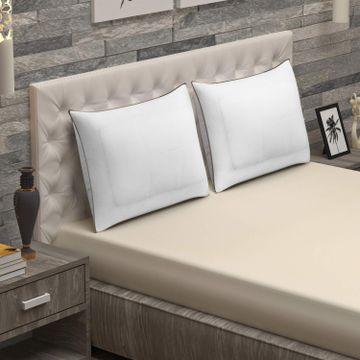 Sita Fabrics | Sita Fabric Premium Microfiber Airmax Pillow Pack of 2 - (18x27 Inches)