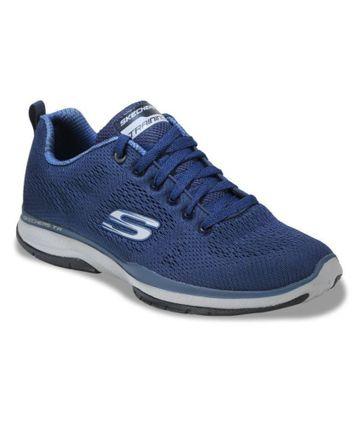 Skechers | Blue Skechers Men Running Shoes