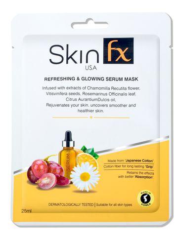 Skin Fx   Skin Fx Refreshing & Glowing Serum Mask Pack of 1