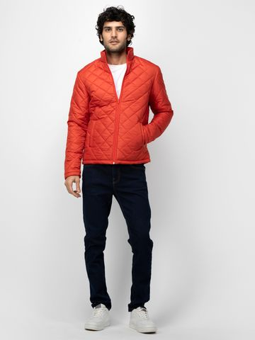 SOC PERFORMANCE | SOC Sunrise Orange Solid Quilted Jacket