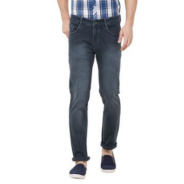 SOLEMIO   grey light washed denim jeans