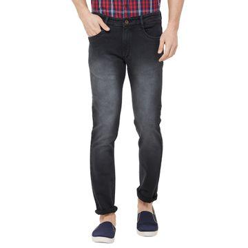 SOLEMIO | grey light washed denim jeans