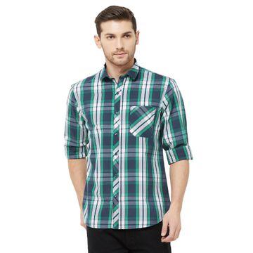 SOLEMIO | Multi Checks Casual Shirt