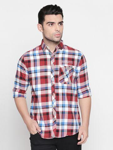 SOLEMIO | Solemio 100% Cotton Casual Shirt For Men