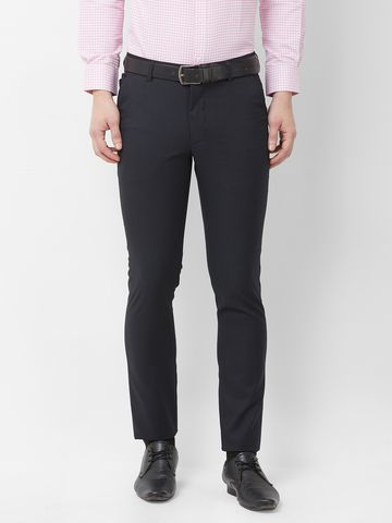 SOLEMIO | Solemio Poly Viscose Lycra Blend Trouser For Mens