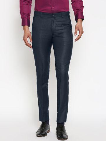 SOLEMIO | Solemio Poly Viscose Formal Trouser For Mens