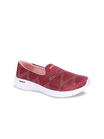 Sparx | Maroon SL-123 Indoor Sports Shoes