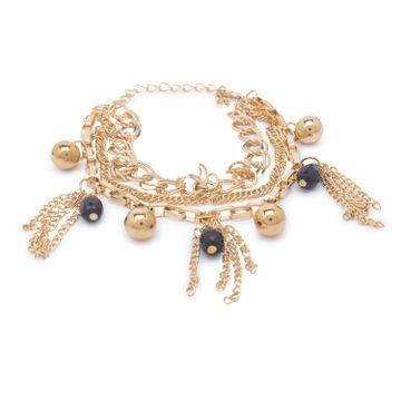 globus | Globus Gold and Black Clasp Bracelet