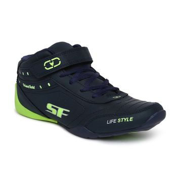 Stanfield   Stanfield SF Fusion Men's Ankle Lace-up shoe Blue/ Fl. Green (10)