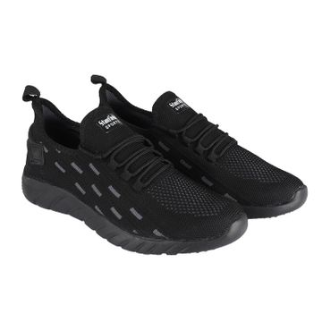 Stanfield | Stanfield SF Air knit Men's Lace-up Shoe Black/ Grey