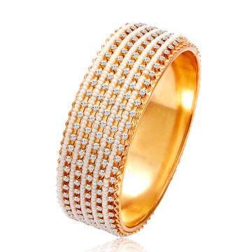 SUKKHI | Sukkhi Delightful Gold Plated Pearl Kada For Women