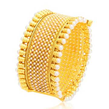 SUKKHI | Sukkhi Angelic Gold Plated Kada For Women