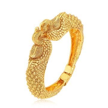 SUKKHI | Sukkhi Fine Peacock Gold Plated Kada For Women