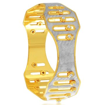 SUKKHI | Sukkhi Alluring Gold And Rhodium Plated Dancing Kada For Women