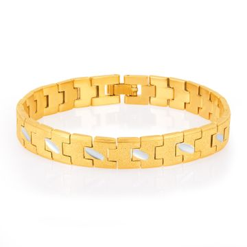 SUKKHI | Sukkhi Creative Gold Plated Bracelet For Men