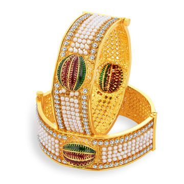 SUKKHI | Sukkhi Glimmery Gold Plated Bangle For Women