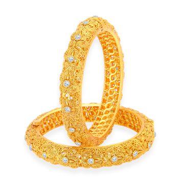 SUKKHI | Sukkhi Modern Gold Plated Bangle For Women