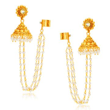 SUKKHI | Sukkhi Creative Gold Plated Pearl Ear cuff For Women