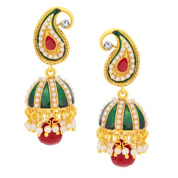 SUKKHI | Sukkhi Appealing Jhumki Gold Plated Earring For Women
