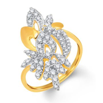 SUKKHI | Sukkhi Ravishing Gold And Rhodium Plated Cubic Zirconia Ring