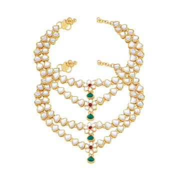 SUKKHI | Sukkhi Ritzy Gold Plated Anklet for women