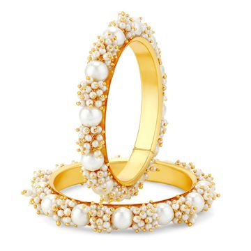 SUKKHI | Sukkhi Ravishing Gold Plated Pear Bangle Set For Women