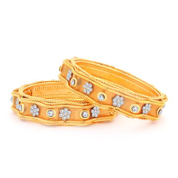 SUKKHI | Sukkhi Exclusive Gold Plated Bangles For Women (Set of 2)