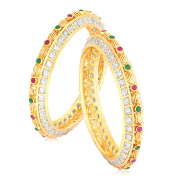 SUKKHI | Sukkhi Spectacular Gold Plated Bangle Set For Women (Set of 2)