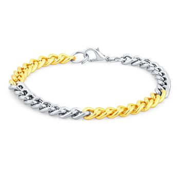 SUKKHI | Sukkhi Incredible Gold & Rhodium Plated Bracelet For Men
