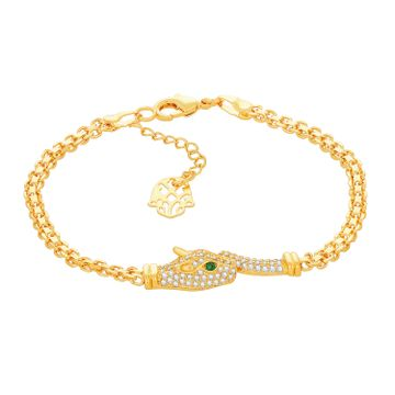 SUKKHI | Sukkhi Ritzy Gold Plated Bracelet for Men