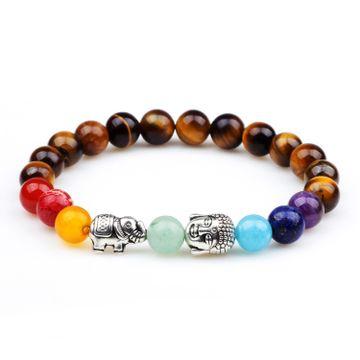 SUKKHI   Sukkhi Lavish Elephant and Buddha Beads Multi Colour Bracelet for Women
