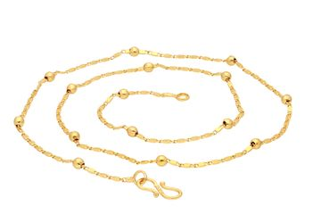 SUKKHI | Sukkhi Shimmering Gold Plated Chain for Men