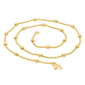 SUKKHI | Sukkhi Classy Gold Plated Unisex Cable chain