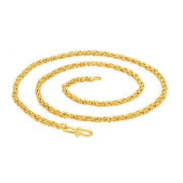 SUKKHI | Sukkhi Charming Gold Plated Byzantine Chain for Men