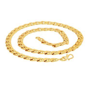 SUKKHI | Sukkhi Glitzy Gold Plated Chain for Men