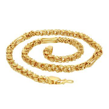 SUKKHI | Sukkhi Spectacular Gold Plated Unisex Byzantine Chain