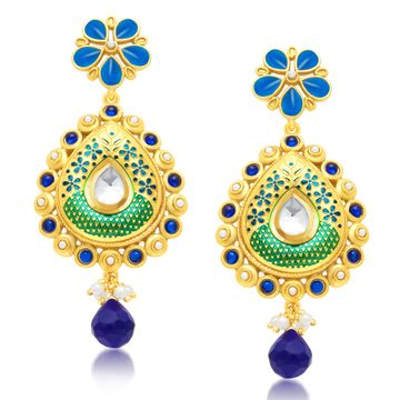 SUKKHI | Sukkhi Modern Gold Plated Dangle Earring For Women