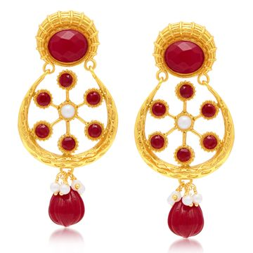 SUKKHI | Sukkhi Marquise Gold Plated Dangle Earring For Women