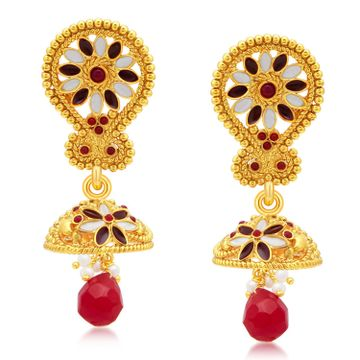 SUKKHI | Sukkhi Ritzy Gold Plated Jhumki Earrings For Women
