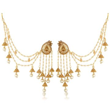 SUKKHI | Sukkhi Elegant Gold Plated Bahubali Inspired Long Chain Jhumki Earrings For Women