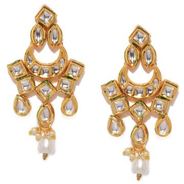 SUKKHI | Sukkhi Attractive Gold Plated Chand Bali Earring for Women