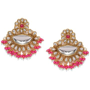 SUKKHI | Sukkhi Sensational Kundan Gold Plated Dangle Earring for Women