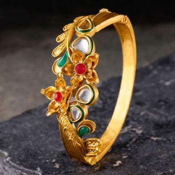 SUKKHI | Sukkhi Tibale Gold Plated Kundan Kada For Women
