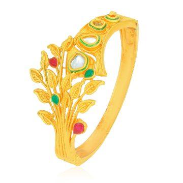 SUKKHI | Sukkhi Fabulous Gold Plated Leafy Kada for Women