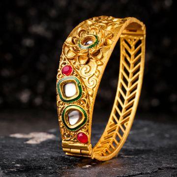 SUKKHI | Sukkhi Youthful Gold Plated Kundan Kada For Women