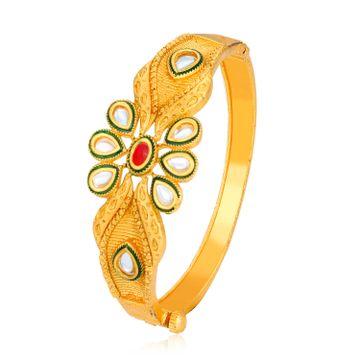 SUKKHI | Sukkhi Fine Gold Plated Kundan Kada for Women