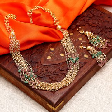 SUKKHI | Sukkhi Appealing Gold Plated Multicolour Necklace Set For Women